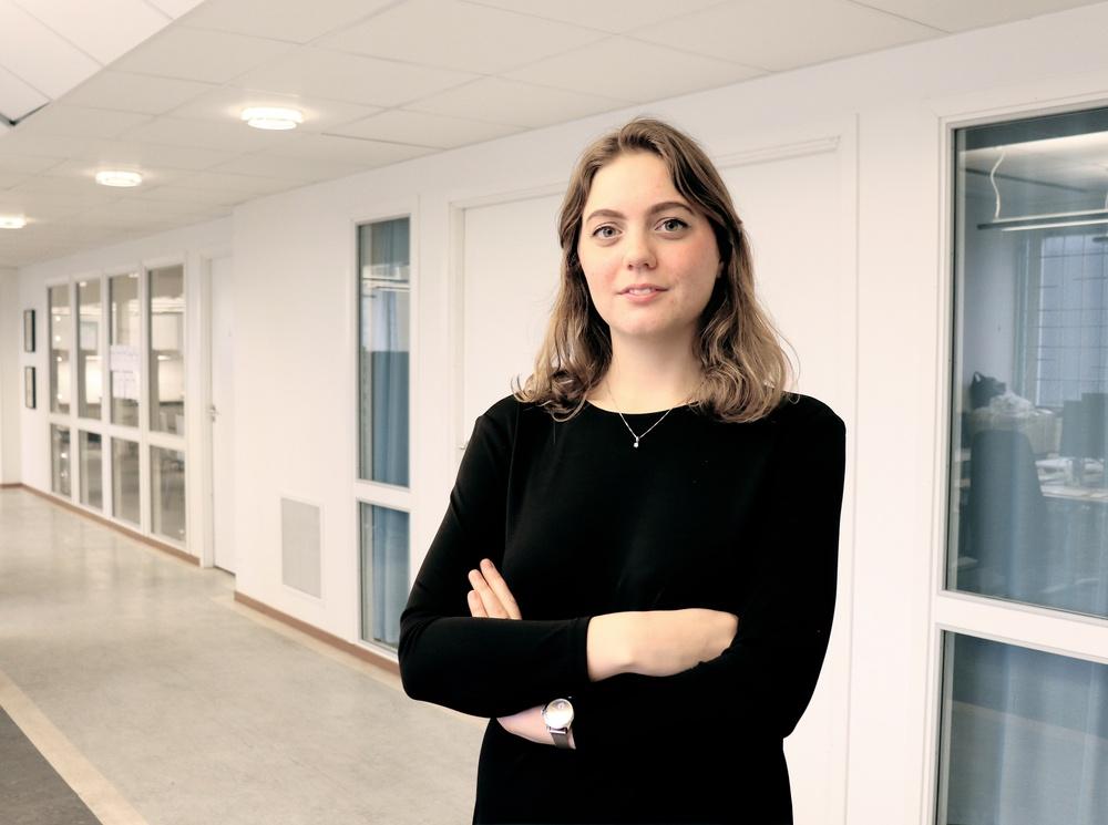 Ebba Kock, ordförande för Sveriges Elevkårer.