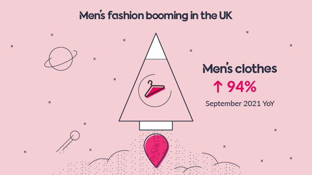Men's fashion booming