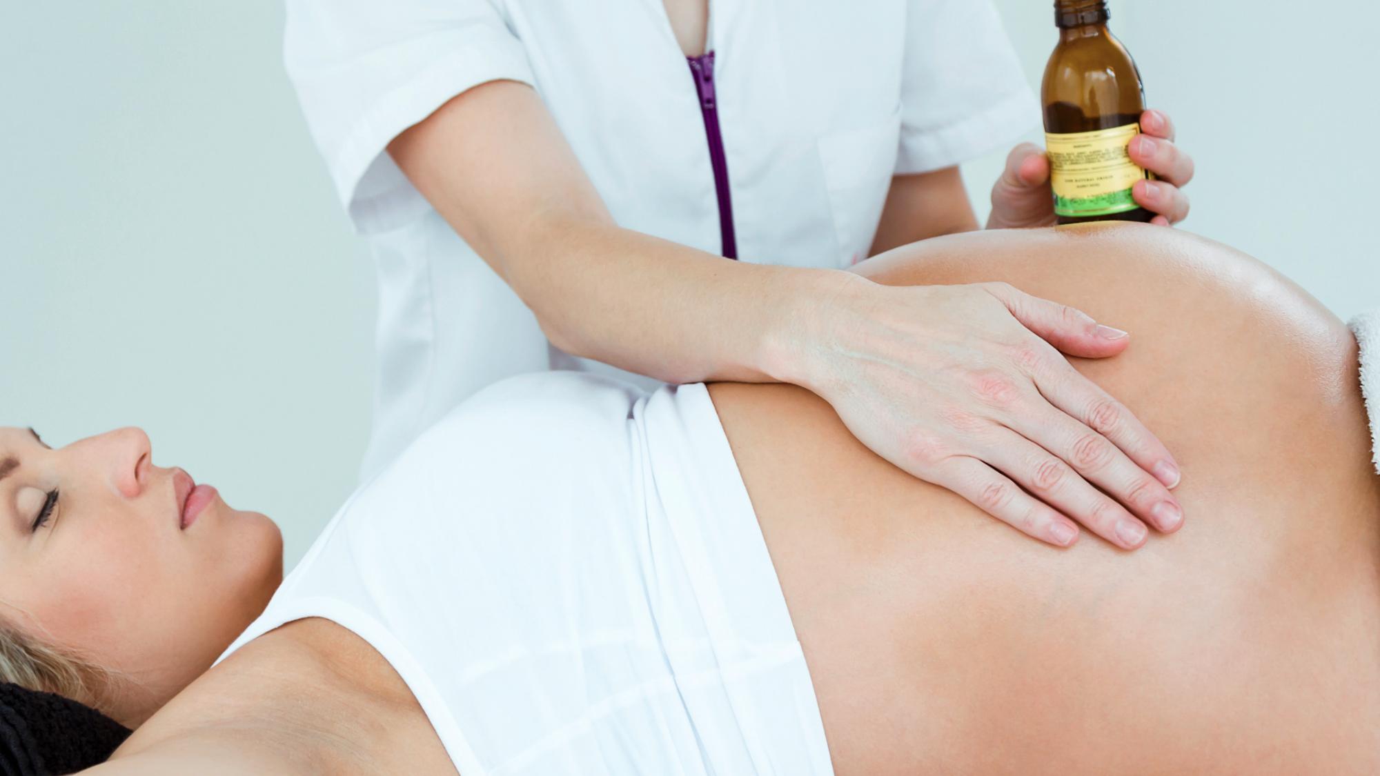 Représentation de la formation : Technicien spa et bien-être Bloc 1 Module E-LEARNING Massage PRENATAL