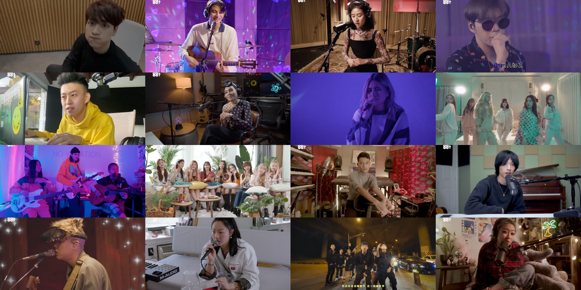 88rising's ASIA RISING FOREVER is now streaming on Bandwagon – watch