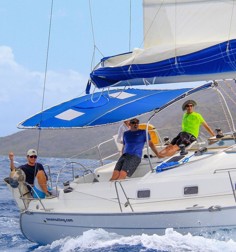 Swain Sailing School and Yacht Charters - Sail Training