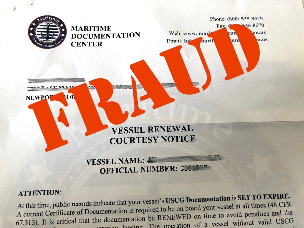 Marinemotion Featured Fraud Alert Official Looking Vessel