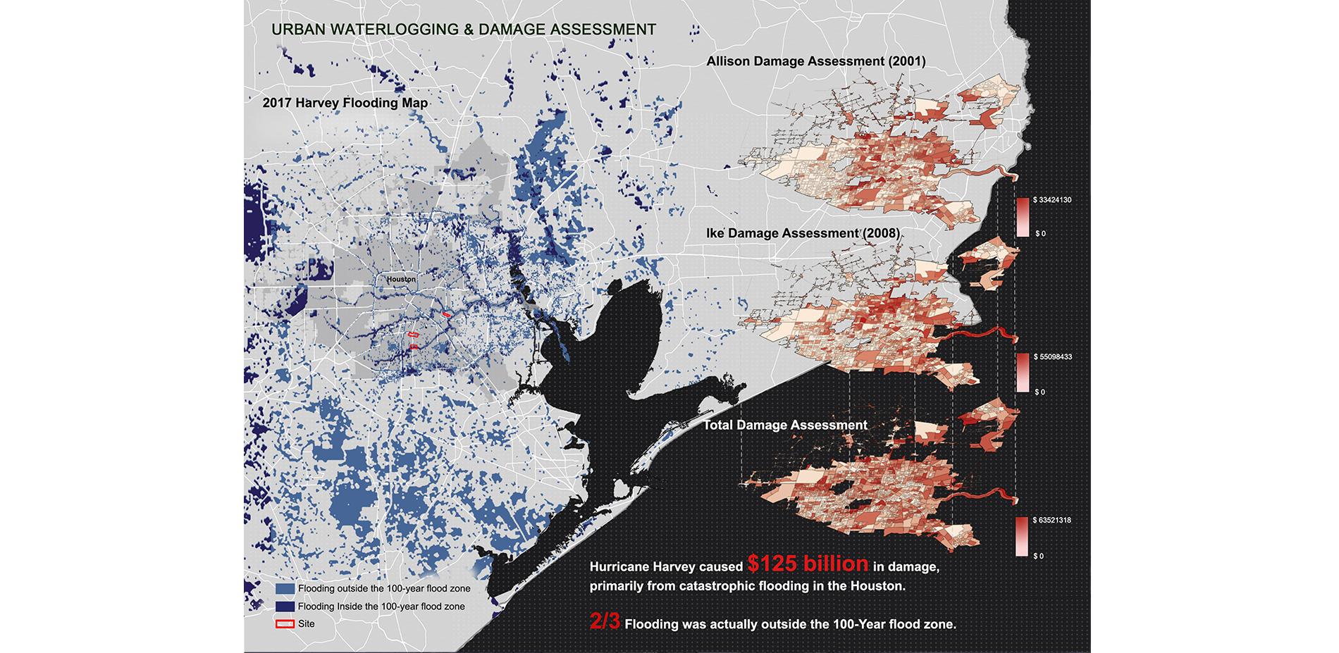 Urban water-logging & damage assessment