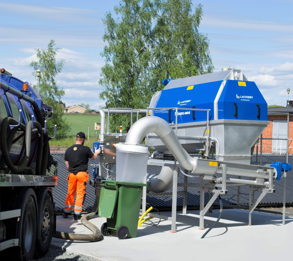 Lackeby Roto-Sieve Septic unit RSS 36