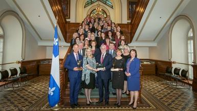 Le projet Égalité pour l'emploi des femmes remporte un Prix Égalité Thérèse-Casgrain