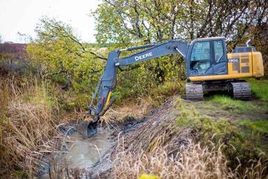 Une équipe de professionnels pour assurer le bon écoulement des cours d'eau
