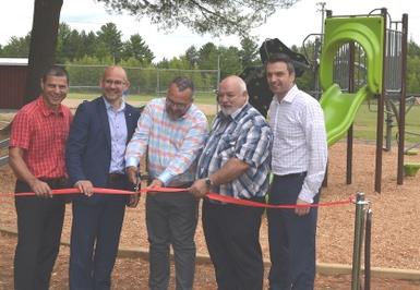 La MRC d'Arthabaska soutient le Parc Rousseau de Ste-Clotilde-de-Horton