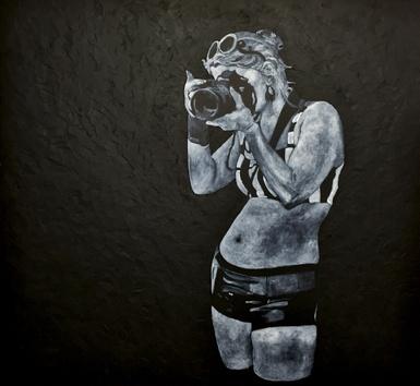 L'artiste Junior Martel expose au mont Arthabaska
