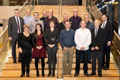 La Ville de Victoriaville honore 16 employés pour leur service rendu