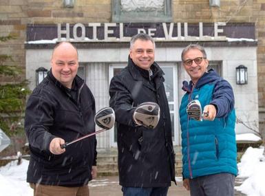 Classique de Golf des Champions: Victoriaville appuie ses athlètes élites