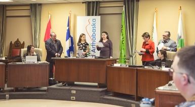 11 municipalités représentées dans le 2e Conseil jeunesse de la MRC d'Arthabaska