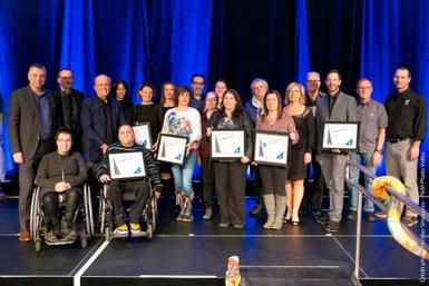 Victoriaville remet son prix d'excellence VICTORIAVILLE ville inclusive