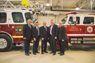 Entente de collaboration pour les équipes de sécurité incendie de Princeville et Victoriaville