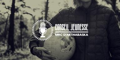 3 membres du Conseil jeunesse de la MRC d'Arthabaska soulignent le Jour de la Terre