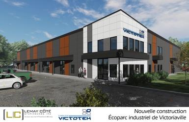 Construction de nouveaux locaux industriels en plein coeur de l'Écoparc industriel Daniel-Gaudreau
