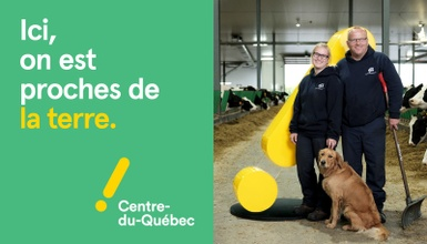 Le Centre-du-Québec en campagne de promotion