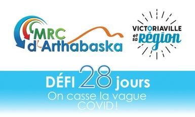 La MRC d'Arthabaska relève le Défi 28 jours