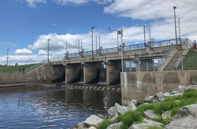 Fermeture temporaire de l'accès piétonnier sur le barrage