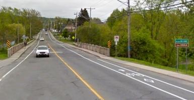 MAJ: Pont de la rivière Gosselin: fermeture complète d'une portion du boulevard Bois-Francs Sud