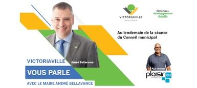 En audio: La chronique <em>Victoriaville vous parle</em> du 12 janvier 2021