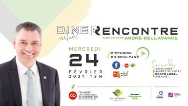 Diner-rencontre avec le maire André Bellavance