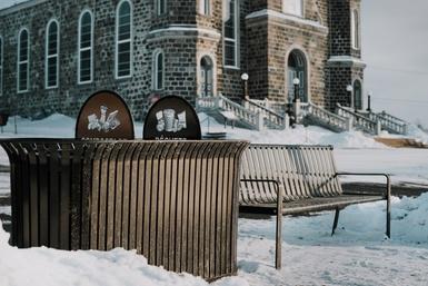 Cinq nouvelles aires de repos dans le vieil Arthabaska