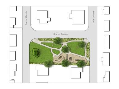 Octroi du contrat de services professionnels pour l'aménagement du parc Meunier