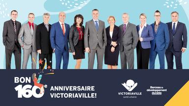 Bon 160e anniversaire Victoriaville!