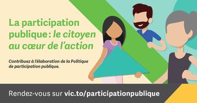 La participation publique: le citoyen au cœur de l'action