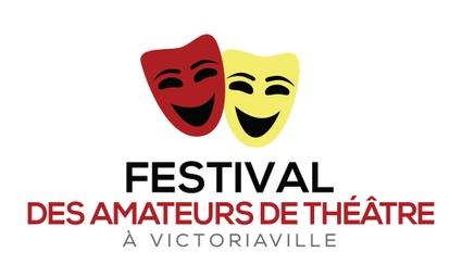 Logo officiel du Festival des amateurs de théâtre de Victoriaville