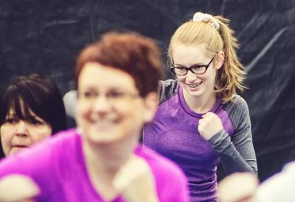 Activité Hop la Ville au Pavillon Agri-Sports de Victoriaville