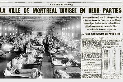 """La Ville de Montréal divisée en 2 parties <a href=""""http://www.lapresse.ca/actualites/sante/200905/02/01-852662-montreal-ville-fermee.php"""">Source</a>"""