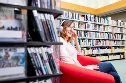 Écoute de musique aux bibliothèques de Victoriaville