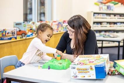Espaces de jeu pour enfants aux bibliothèques de Victoriaville