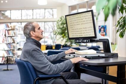Dispositifs informatiques pour personnes en situation de handicap aux bibliothèques de Victoriaville