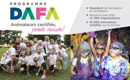 """Nos animateurs sont tous certifiés DAFA <a href=""""http://vic.to/animationestivale#devenirAnimateur"""">Plus de détails</a>"""