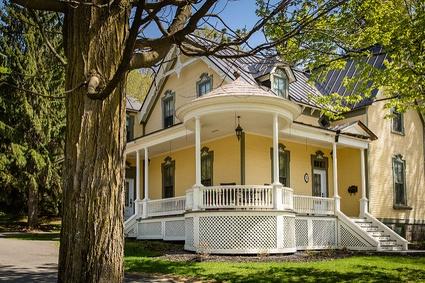 Maison patrimoniale sur la rue Laurier, à Victoriaville