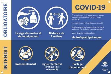 Directives en lien avec la COVID-19