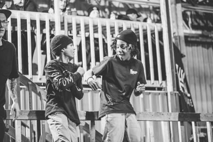 Jeunes au Local Skateparc de Victoriaville