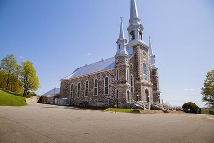L'église Saint-Christophe-d'Arthabaska, à Victoriaville