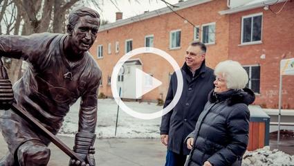 En vidéo: Inauguration du parc Jean-Béliveau