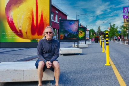 Le photographe Guy Samson expose au centre-ville de Victoriaville