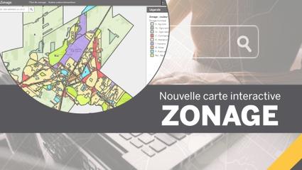 Une nouvelle carte interactive  sur le zonage du territoire