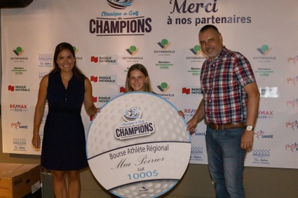 7 athlètes et 2 organisations honorés lors de la Classique de golf des Champions