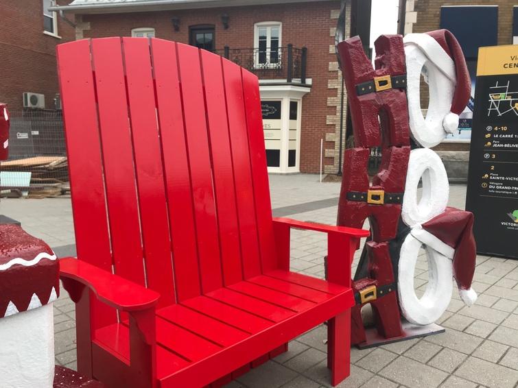 Chaise du Père Noël