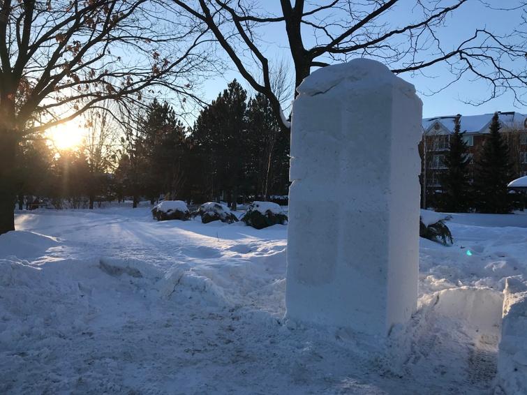 Bloc de neige
