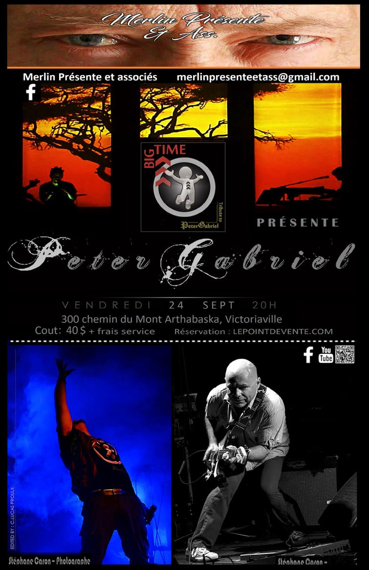 Hommage à Peter Gabriel