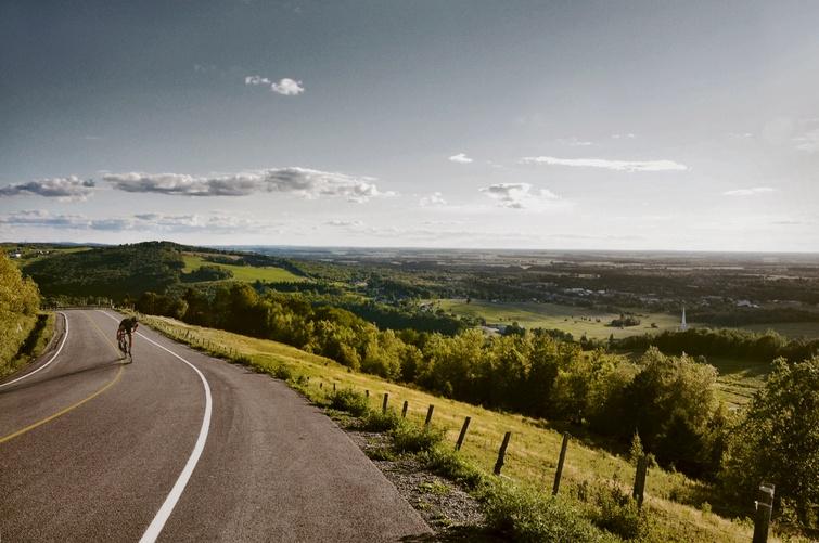 TVR: Circuit La classique des Appalaches panoramique - Crédit photo: Squad Cycles