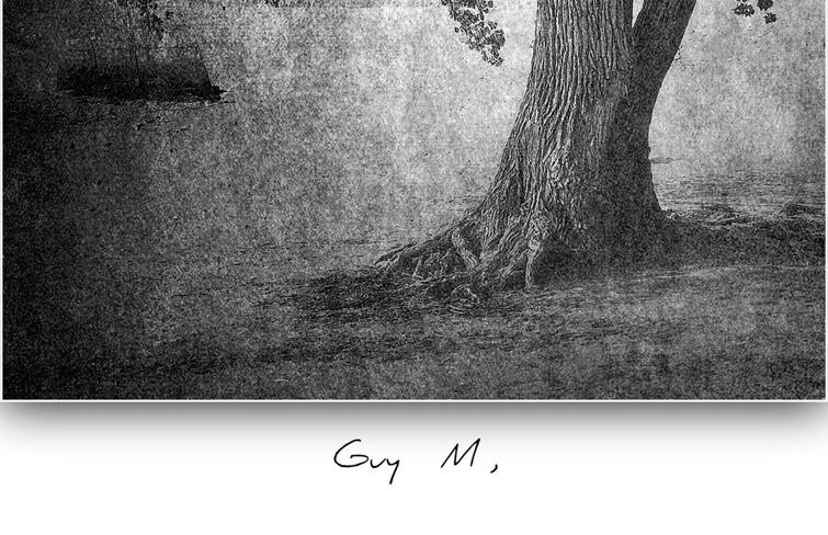 Première exposition solo à l'hôtel de ville pour Guy Morin