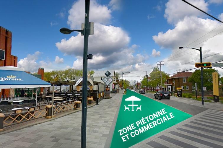 Piétonnisation partielle d'une partie du centre-ville pour l'été 2020